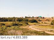 Сельский пейзаж село Ташла (2013 год). Стоковое фото, фотограф Сергей Хрушков / Фотобанк Лори