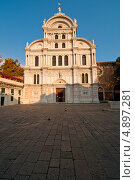 Купить «Венеция, Италия, церковь Сан-Заккария», фото № 4897281, снято 7 октября 2012 г. (c) Francesco Perre / Фотобанк Лори