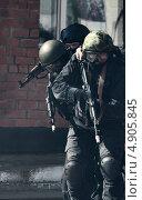 Отряд спецназа «Факел» (2013 год). Редакционное фото, фотограф Krasnoperov Rostislav / Фотобанк Лори