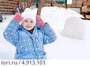 Купить «Портрет девочки», фото № 4913101, снято 17 марта 2013 г. (c) Хайрятдинов Ринат / Фотобанк Лори