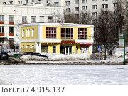 Магазин продукты в Москве (2010 год). Редакционное фото, фотограф Buyanka / Фотобанк Лори