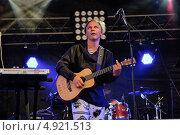 Купить «Илья Лагутенко на фестивале RED ROCKS TOUR 2013», фото № 4921513, снято 3 августа 2013 г. (c) Ирина Балина / Фотобанк Лори