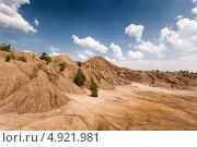 Романцевские горы: заброшенный угольный карьер. Стоковое фото, фотограф Зайцев Алексей / Фотобанк Лори
