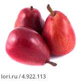 Купить «Три красные груши», фото № 4922113, снято 25 июня 2013 г. (c) Литвяк Игорь / Фотобанк Лори