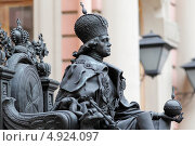 Купить «Санкт-Петербург. Памятник Павлу I. Инженерный замок», эксклюзивное фото № 4924097, снято 26 апреля 2013 г. (c) Дмитрий Неумоин / Фотобанк Лори