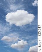 Воздушные облака, фон, заставка. Стоковое фото, фотограф Ольга / Фотобанк Лори