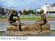 Памятник Шурале (2012 год). Редакционное фото, фотограф александр афанасьев / Фотобанк Лори