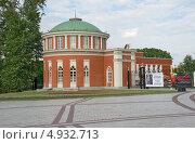 Входной павильон. Царицыно Москва (2011 год). Редакционное фото, фотограф Александр Щепин / Фотобанк Лори