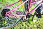 Велосипедная звездочка на заднем колесе велосипеда и ноги на педалях, фото № 4945553, снято 8 августа 2013 г. (c) Кекяляйнен Андрей / Фотобанк Лори