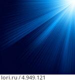 Купить «Голубой светящийся фон», иллюстрация № 4949121 (c) Владимир / Фотобанк Лори