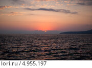 Купить «Черноморский закат», фото № 4955197, снято 8 июля 2013 г. (c) Николай Мухорин / Фотобанк Лори