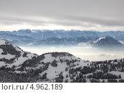 Риги, Швейцария. Стоковое фото, фотограф Elena Ritschard / Фотобанк Лори
