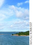 Высокое небо. Аландские острова, Финляндия (2013 год). Стоковое фото, фотограф Валерия Попова / Фотобанк Лори