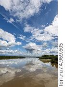 Река Камчатка. Лето, фото № 4969605, снято 26 июля 2013 г. (c) А. А. Пирагис / Фотобанк Лори