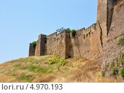 Купить «Старая крепость Нарын-Кала, Дербент горы Дагестана», фото № 4970193, снято 2 июля 2010 г. (c) Юрий Шаповалов / Фотобанк Лори