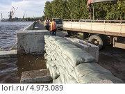 Купить «Хабаровск готовится к наводнению», эксклюзивное фото № 4973089, снято 20 августа 2013 г. (c) Дмитрий Фиронов / Фотобанк Лори