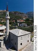 Купить «Мечеть, город Бар. Черногория», эксклюзивное фото № 4976309, снято 7 августа 2013 г. (c) ФЕДЛОГ / Фотобанк Лори