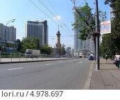 Улица Стромынка, Москва (2013 год). Редакционное фото, фотограф lana1501 / Фотобанк Лори