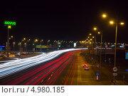 Ночной проспект (2013 год). Редакционное фото, фотограф Руслан Кузуб / Фотобанк Лори