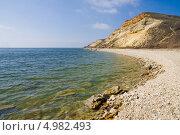 Купить «Северо-западный берег Цимлянского водохранилища», фото № 4982493, снято 6 апреля 2013 г. (c) Борис Панасюк / Фотобанк Лори