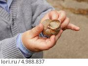 Улитка в руках ребенка. Стоковое фото, фотограф Tanya Lomakivska / Фотобанк Лори