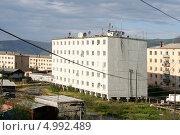 Поселок Усть-Нера. Якутия (2013 год). Стоковое фото, фотограф Анна Зеленская / Фотобанк Лори
