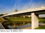 Белый мост в Вильнюсе (2013 год). Редакционное фото, фотограф Sergejus Savickis / Фотобанк Лори