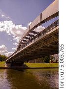 Мост короля Миндаугаса. Вильнюс (2013 год). Редакционное фото, фотограф Sergejus Savickis / Фотобанк Лори