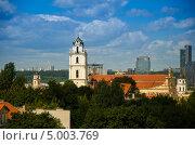 Церковь в Вильнюсе (2013 год). Редакционное фото, фотограф Sergejus Savickis / Фотобанк Лори