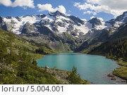 Купить «Алтай. Мультинские озера», фото № 5004001, снято 22 августа 2013 г. (c) Gagara / Фотобанк Лори