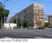 Вельяминовская улица, 6, Москва (2013 год). Стоковое фото, фотограф lana1501 / Фотобанк Лори