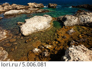 Берег моря. Стоковое фото, фотограф Александр Жильцов / Фотобанк Лори