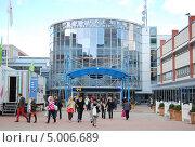 Купить «Выставочных Центр в Хельсинки», фото № 5006689, снято 15 сентября 2012 г. (c) Тавруева Надежда / Фотобанк Лори