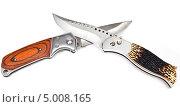 Купить «Перочинные ножи», фото № 5008165, снято 14 ноября 2011 г. (c) Parmenov Pavel / Фотобанк Лори