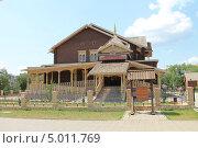Купить «Русское подворье в национальной деревне. Oренбург», фото № 5011769, снято 28 июня 2013 г. (c) Иван Тимофеев / Фотобанк Лори