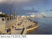 Купить «Город Благовещенск. Набережная реки Амур», фото № 5013785, снято 1 сентября 2013 г. (c) Konstantin Kartashov / Фотобанк Лори