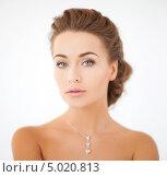 Купить «Портрет очаровательной молодой женщины с выразительным лицом», фото № 5020813, снято 17 марта 2013 г. (c) Syda Productions / Фотобанк Лори