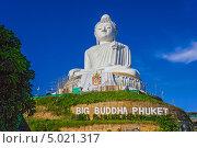 Купить «Большой Будда,Таиланд», фото № 5021317, снято 14 февраля 2013 г. (c) Олег Жуков / Фотобанк Лори