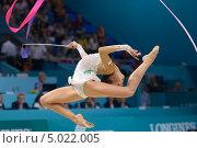 Маргарита Мамун на Чемпионате мира по художественной гимнастике в Киеве, фото № 5022005, снято 29 августа 2013 г. (c) Stockphoto / Фотобанк Лори