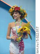 Мелитина Станюта, Белоруссия, завоевала бронзовую медаль на Чемпионате мира по художественной гимнастике в Киеве, фото № 5022017, снято 29 августа 2013 г. (c) Stockphoto / Фотобанк Лори