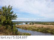 Купить «Заповедная зона  Луковая гора. Река Березина. Летний пейзаж.», фото № 5024697, снято 29 августа 2013 г. (c) Victoria Demidova / Фотобанк Лори