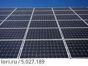 Солнечные панели. Стоковое фото, фотограф Наталия Македа / Фотобанк Лори