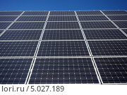 Купить «Солнечные панели», фото № 5027189, снято 23 августа 2011 г. (c) Наталия Македа / Фотобанк Лори