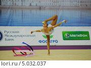 Маргарита Мамун с лентой (2013 год). Редакционное фото, фотограф Анатолий Дьяков / Фотобанк Лори