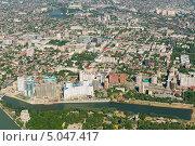 Купить «Город Краснодар, вид сверху», фото № 5047417, снято 8 мая 2013 г. (c) Виктор Затолокин/Victor Zatolokin / Фотобанк Лори
