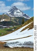 Альпийский вид (Форарльберг, Австрия) (2012 год). Стоковое фото, фотограф Юрий Брыкайло / Фотобанк Лори