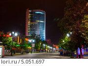 Купить «Улица Кировка в г.Челябинске», фото № 5051697, снято 26 августа 2013 г. (c) Дмитрий Шульгин / Фотобанк Лори