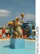 Купить «Скульптура Русалки в аквапарке (Закинтос, Греция)», фото № 5052609, снято 4 июня 2013 г. (c) Хименков Николай / Фотобанк Лори
