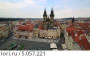 Купить «Староместская площадь в Праге», видеоролик № 5057221, снято 12 сентября 2013 г. (c) Юлия Машкова / Фотобанк Лори