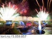 Праздник Закрытия фонтанов в Петергофе 2013. Редакционное фото, фотограф Андрей Разумов / Фотобанк Лори